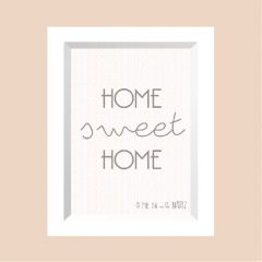HOME sweet HOME …………………… REF: 110102