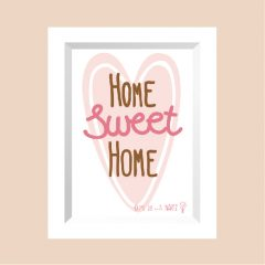 HOME sweet HOME …………………… REF: 110104