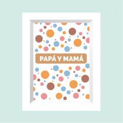 PAPÁ Y MAMÁ …………………… REF: 110201