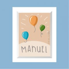LÁMINA Manuel …………………… REF: 220106