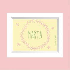 LÁMINA Marta …………………… REF: 220202